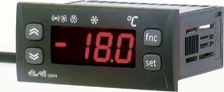 ID 974 Digital Göstergeli Termostat